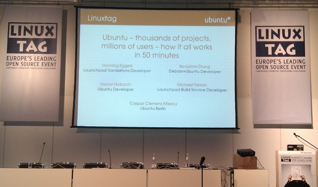 Ubuntu in 50 minutes talk at LinuxTag 2010